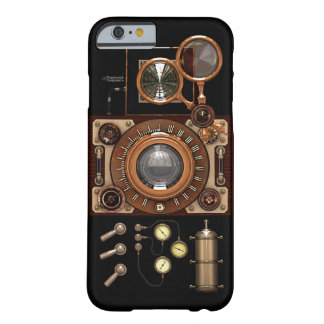 Vintage Steampunk TLR Camera (Dark) Barely There iPhone 6 Case