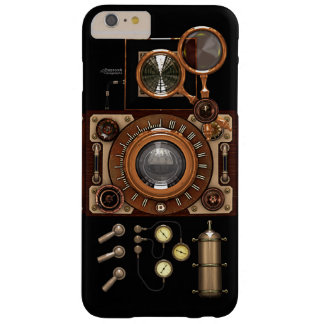 Vintage Steampunk TLR Camera (Dark) Barely There iPhone 6 Plus Case