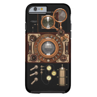 Vintage Steampunk TLR Camera (Dark) Tough iPhone 6 Case