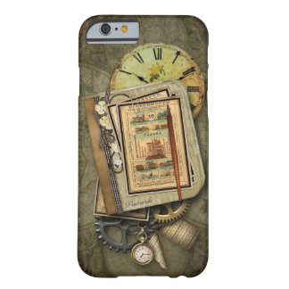 Vintage Steampunk Travel iPhone 6 case Barely There iPhone 6 Case