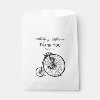 Vintage Steampunk Velocipede Bicycle Bike Favour Bag