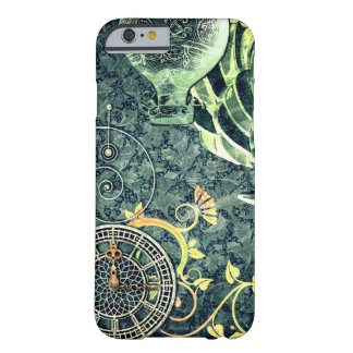 Vintage Steampunk Wallpaper Barely There iPhone 6 Case
