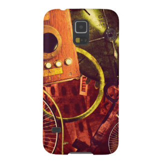 Vintage Steampunk Wallpaper Case For Galaxy S5