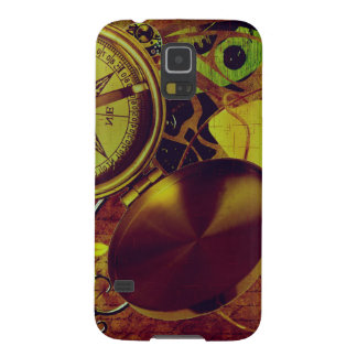 Vintage Steampunk Wallpaper Galaxy S5 Cases