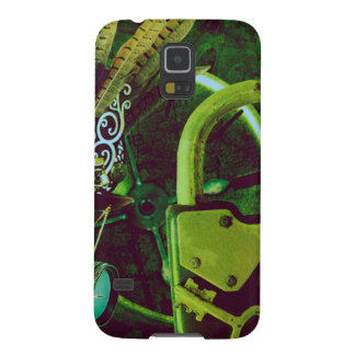 Vintage Steampunk Wallpaper Galaxy S5 Cover