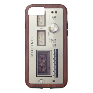 Vintage Stereo Cassette Tape Deck Player iPhone 7 Case