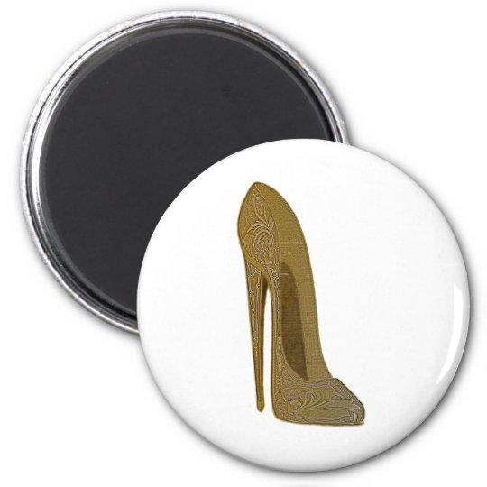 Vintage Stiletto Shoe High Heel Art Gifts Magnet