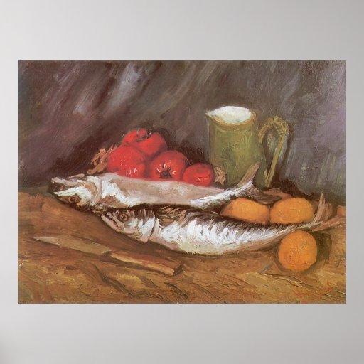 Vintage Still Life, Vincent van Gogh Impressionism Posters
