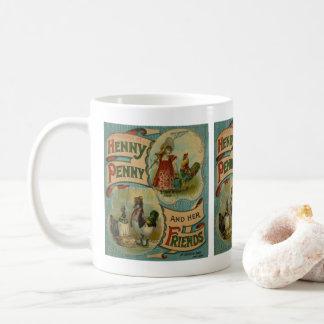 Vintage storybook book lovers mug