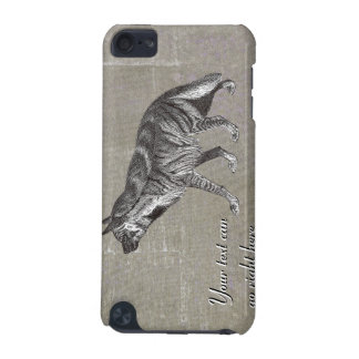 Vintage Striped Hyena iPod Case iPod Touch (5th Generation) Case