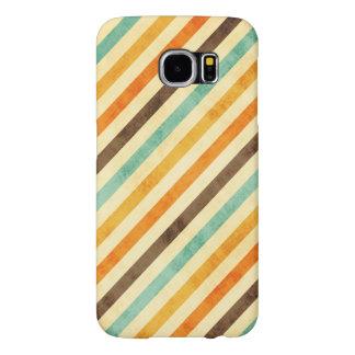 Vintage Stripes Pattern Samsung Galaxy S6 Cases