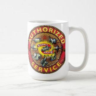Vintage sturmey archer sign coffee mug