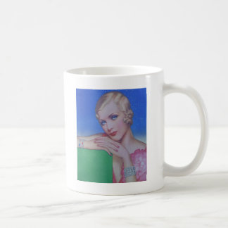 Vintage Style 1932 Basic White Mug