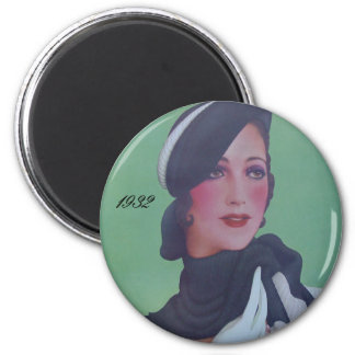 Vintage Style 1932 Magnet