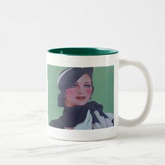 Vintage Style 1932 Two-Tone Mug