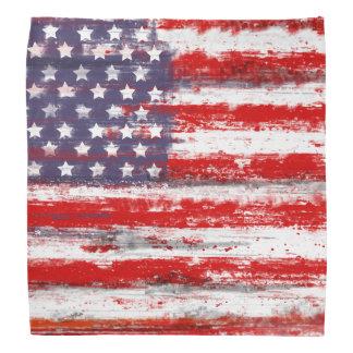 vintage style american flag,usa flag bandana
