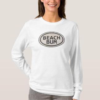 Vintage Style Beach Bum Beach Tag Shirt