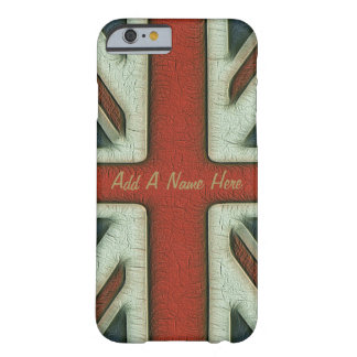 Vintage Style British Flag Barely There iPhone 6 Case