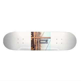 vintage style, Brooklyn Bridge 20.6 Cm Skateboard Deck