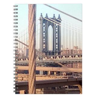 vintage style, Brooklyn Bridge Notebook