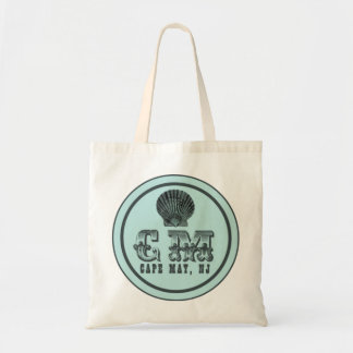 Vintage Style Cape May NJ Beach Tag Tote Bag