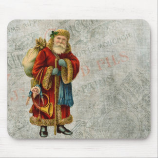 Vintage Style Father Christmas Santa Claus Mouse Pads