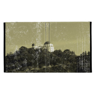 Vintage Style Griffith Observatory iPad Cases