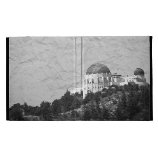Vintage Style Griffith Observatory iPad Case