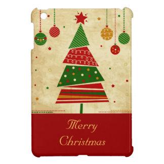 Vintage Style Holiday Tree iPad Mini Cover