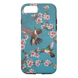 Vintage Style Hummingbird Painting iPhone 8/7 Case