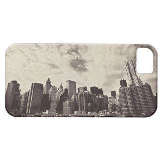 Vintage Style New York City Skyline iPhone 5 Cases