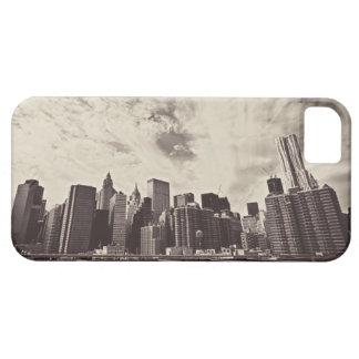 Vintage Style New York City Skyline iPhone 5 Cases