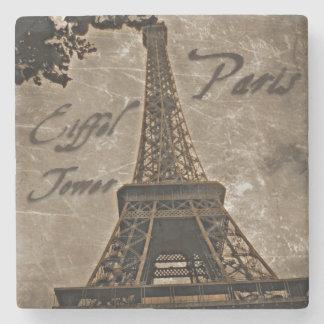 Vintage Style Paris coaster Stone Coaster