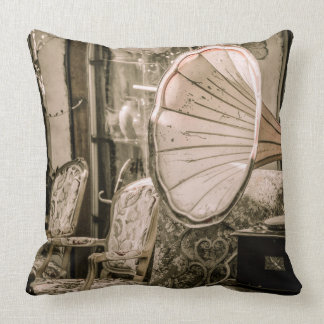 Vintage Style Phonograph Pillow