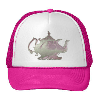 Vintage Style Pink Teapot Hats