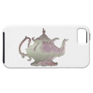 Vintage Style Pink Teapot iPhone 5 Covers