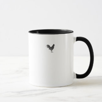 Vintage-style Rooster Mug