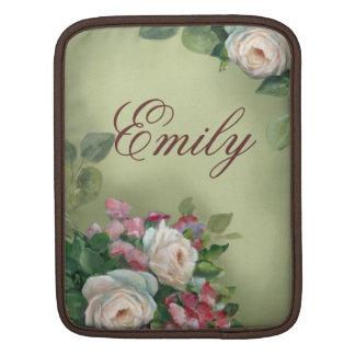 Vintage style Roses iPad Sleeves