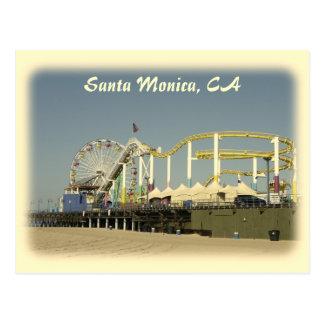 Vintage Style Santa Monica Postcard! Postcard