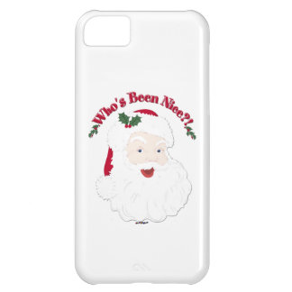 Vintage Style Santa Who's Been Nice?! iPhone 5C Case