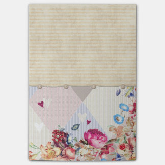 Vintage Style Stationary Post-it® Notes