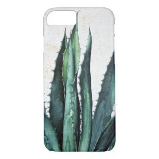 Vintage succulent boho agave aloe cactus desert iPhone 8/7 case