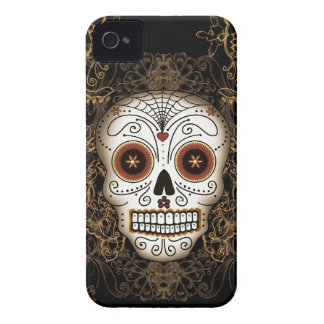 Vintage Sugar Skull Blackberry Bold Case