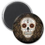 Vintage Sugar Skull Magnet