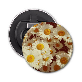 Vintage Summer daisies Bottle Opener
