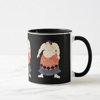 Vintage Sumo Wrestler Mug