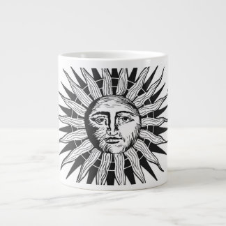 Vintage Sun Large Coffee Mug