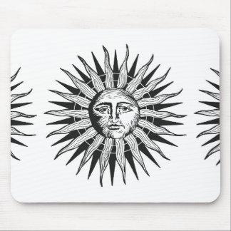 Vintage Sun Mouse Pad
