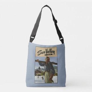 Vintage Sun Valley Idaho USA bags Tote Bag