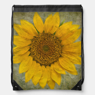 Vintage Sunflower Bag